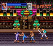 Return of Double Dragon, capture d'écran