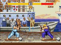 une photo d'écran de Street Fighter 2 Turbo sur Nintendo Super Nes