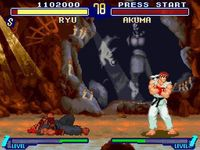 une photo d'écran de Street Fighter Alpha 2 sur Nintendo Super Nes