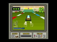 une photo d'écran de Stunt Race FX sur Nintendo Super Nes