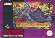 Photo de la boite de Super Ghouls n Ghosts