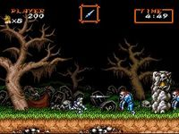 Super Ghouls n Ghosts, capture d'écran