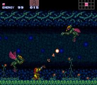 Super Metroid, capture décran