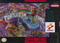 Photo de la boite de Teenage Mutant Ninja Turtles IV - Turtles In Time