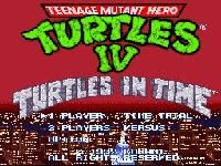 Teenage Mutant Ninja Turtles IV - Turtles In Time, capture d'écran