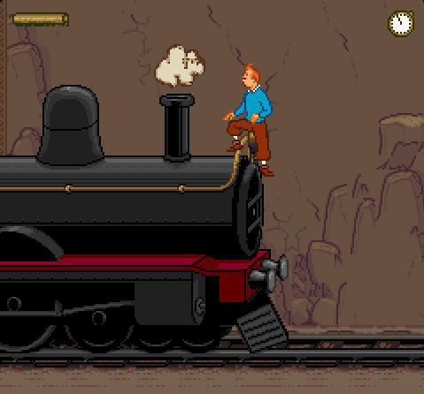 Tintin au Tibet sur Nintendo Super Nes