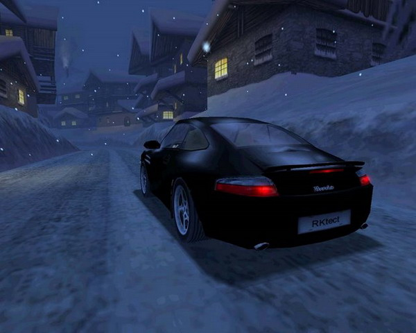 une photo d'écran de Need for Speed 5 - Porsche 2000 sur PC