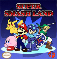 Photo de la boite de Super Smash Land
