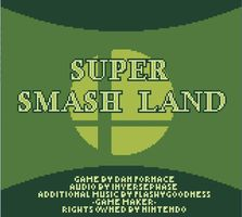 Super Smash Land, capture décran