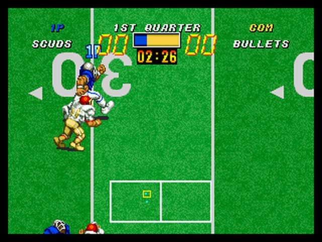 test football frenzy neo geo