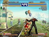 The King of Fighters 2003, capture d'écran