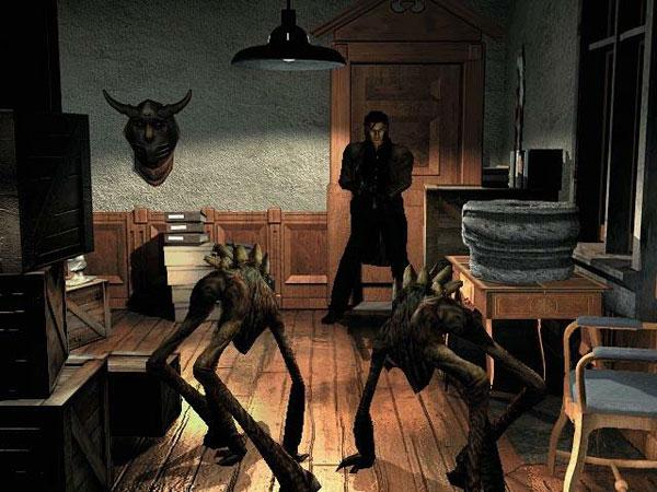 Alone in the Dark - The New Nightmare sur Sega Dreamcast