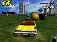 Crazy Taxi, capture décran