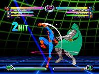 Marvel VS Capcom 2, capture d'écran