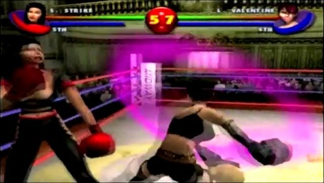 une photo d'écran de Ready 2 Rumble Boxing Round 2 sur Sega Dreamcast