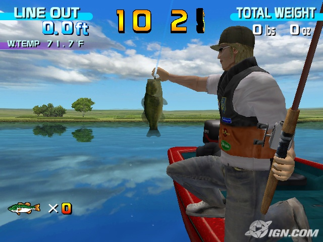 Test de sega bass fishing sur sega dreamcast for Ps4 bass fishing games