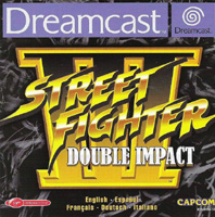 Photo de la boite de Street Fighter 3 - Double Impact