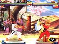 Street Fighter 3 - Double Impact sur Sega Dreamcast