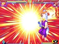 Street Fighter 3 - Double Impact, capture d'écran