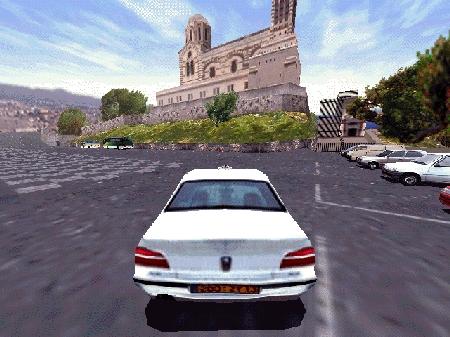 une photo d'écran de Taxi 2 sur Sega Dreamcast