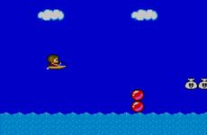 Alex Kidd in Miracle World sur Sega Master System
