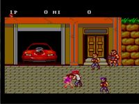 une photo d'�cran de Double Dragon sur Sega Master System