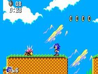 Sonic the Hedgehog (Master System), capture décran