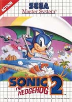 Photo de la boite de Sonic the Hedgehog 2 (Master System)