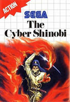 Photo de la boite de The Cyber Shinobi