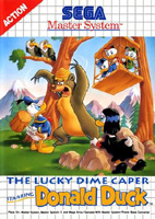 Photo de la boite de The Lucky Dime Caper Starring Donald Duck