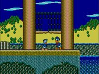 une photo d'écran de The Lucky Dime Caper Starring Donald Duck sur Sega Master System