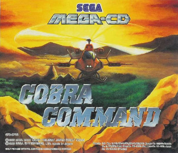 Photo de la boite de Cobra Command