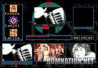 une photo d'écran de INXS - Make My Video sur Sega Mega-CD
