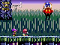 Knuckles Chaotix, capture d'écran