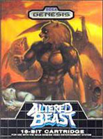 Photo de la boite de Altered Beast