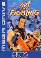 Photo de la boite de Art of Fighting (Megadrive)
