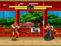 Art of Fighting (Megadrive), capture décran
