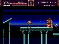 Castlevania - The New Generation sur Sega Megadrive