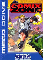 Photo de la boite de Comix Zone