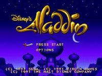 Disney s Aladdin, capture décran