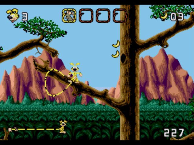 Marsupilami sur Sega Megadrive