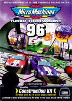 Photo de la boite de Micro Machines Turbo Tournament 96