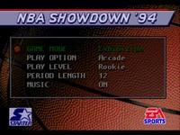 NBA Showdown, capture d'écran