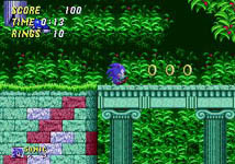 Sonic the Hedgehog 2, capture décran