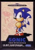 Photo de la boite de Sonic the Hedgehog