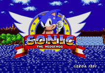Sonic the Hedgehog, capture décran