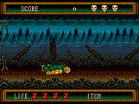 Splatterhouse 2, capture d'écran