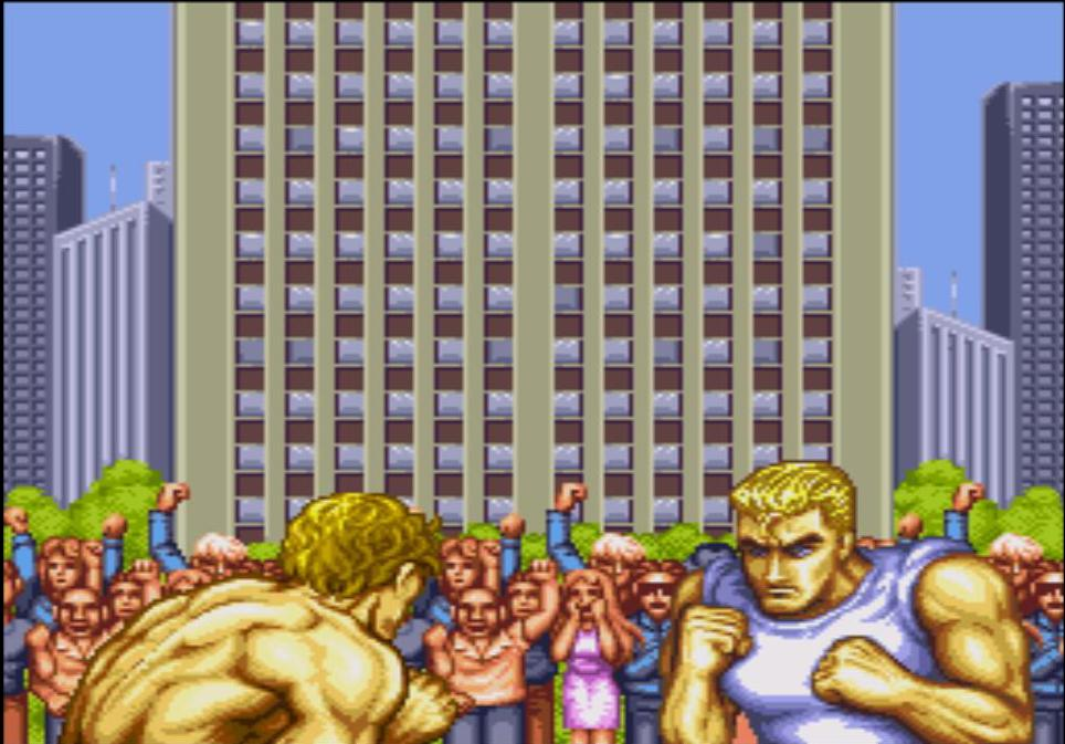 de Street Fighter 2 - Special Champion Edition sur Sega Megadrive