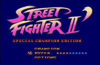 une photo d'�cran de Street Fighter 2 - Special Champion Edition sur Sega Megadrive