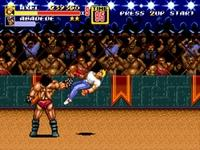 Streets of Rage 2, capture décran